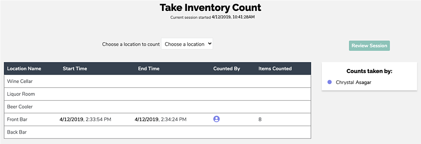 Take Inventory Count-07