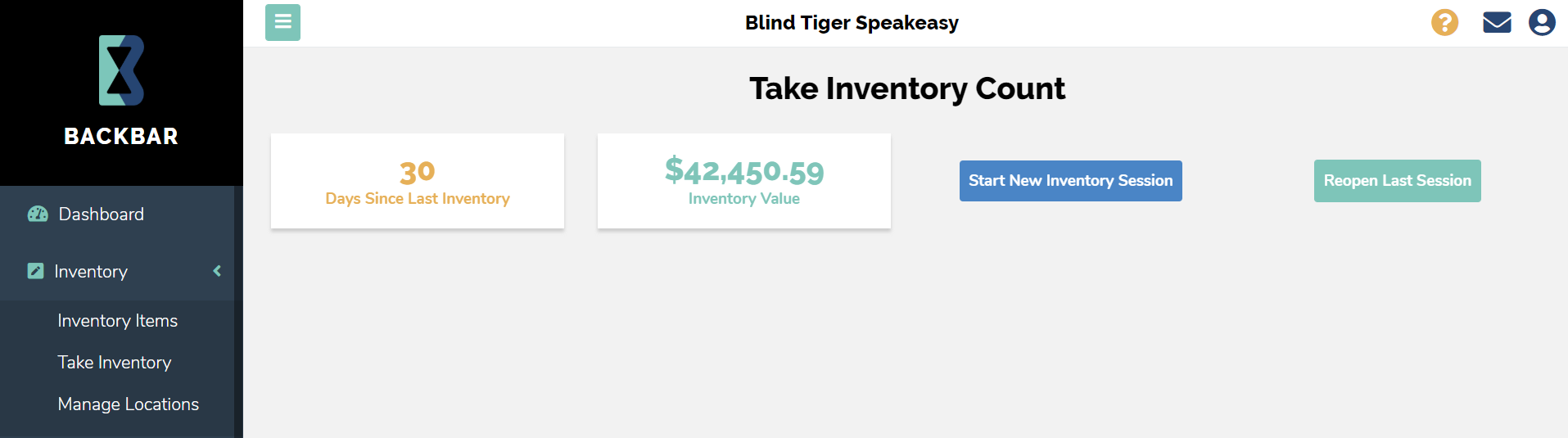 Inventory Audit
