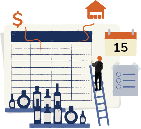 Bar Inventory Spreadsheet Template Free Template Download